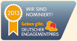 "Websticker ""Nominiert"""